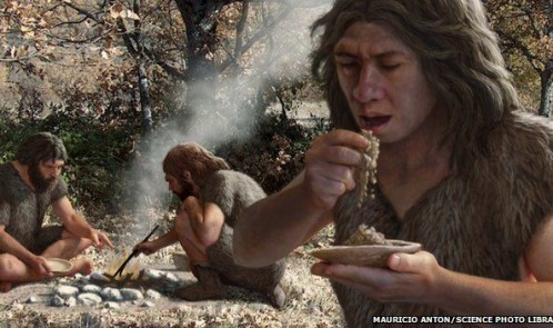 _83370851_c0103517-neanderthals_cooking_vegetables,_artwork-spl